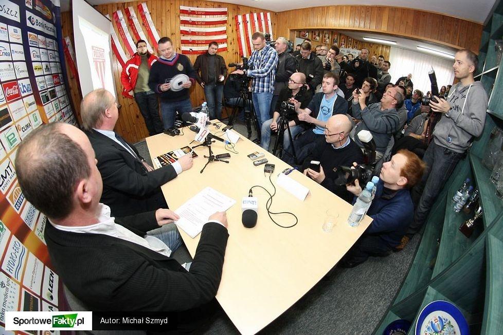 Konferencja prasowa Polonii Bydgoszcz