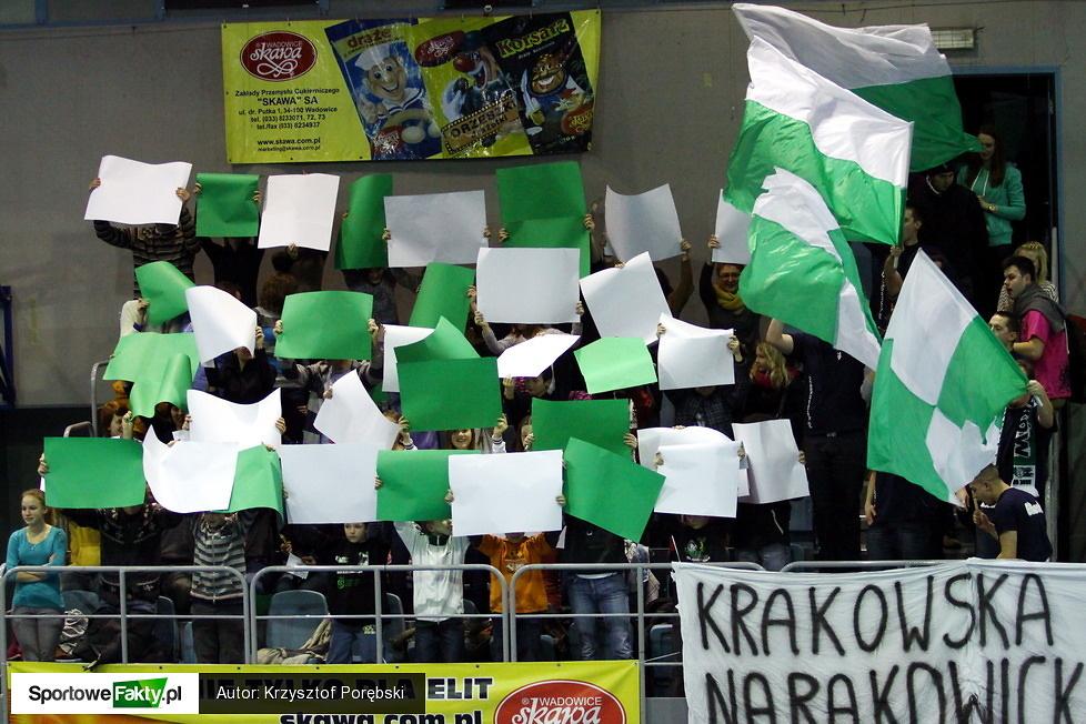 Eliteski AZS UEK Kraków - AGH Galeco Wisła Kraków 2:3