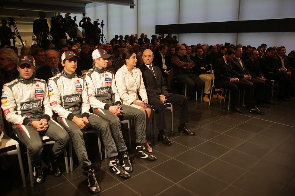 Prezentacja nowego bolidu Sauber C32