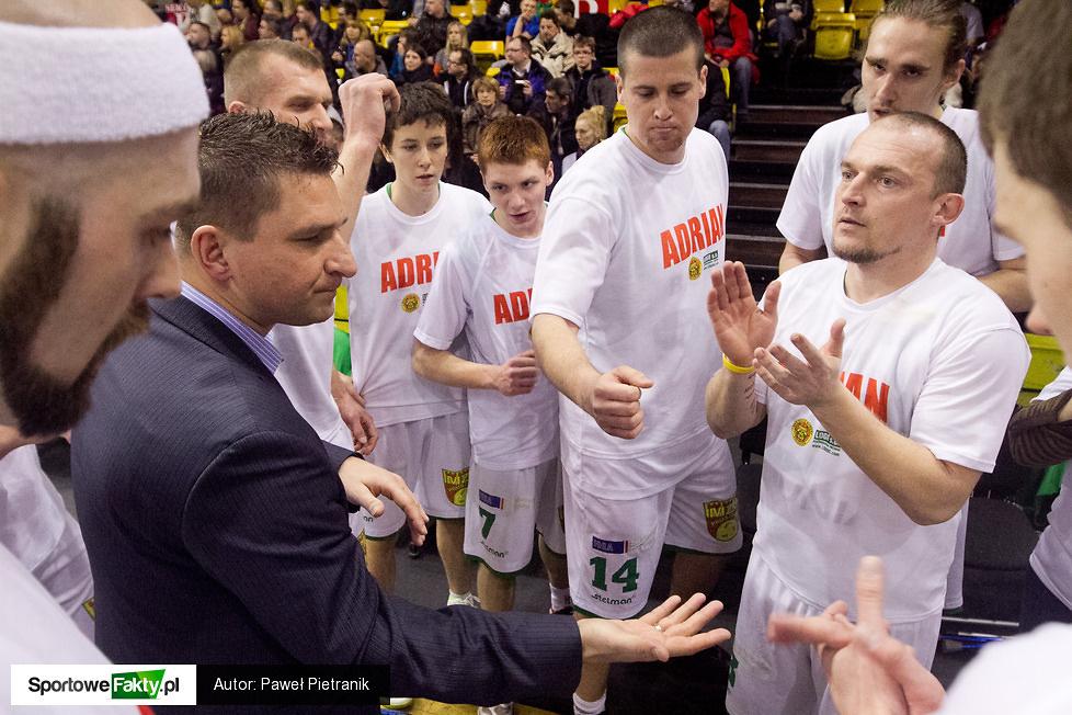 Znicz Basket Pruszków - Spójnia Stargard Szcz. 55:72