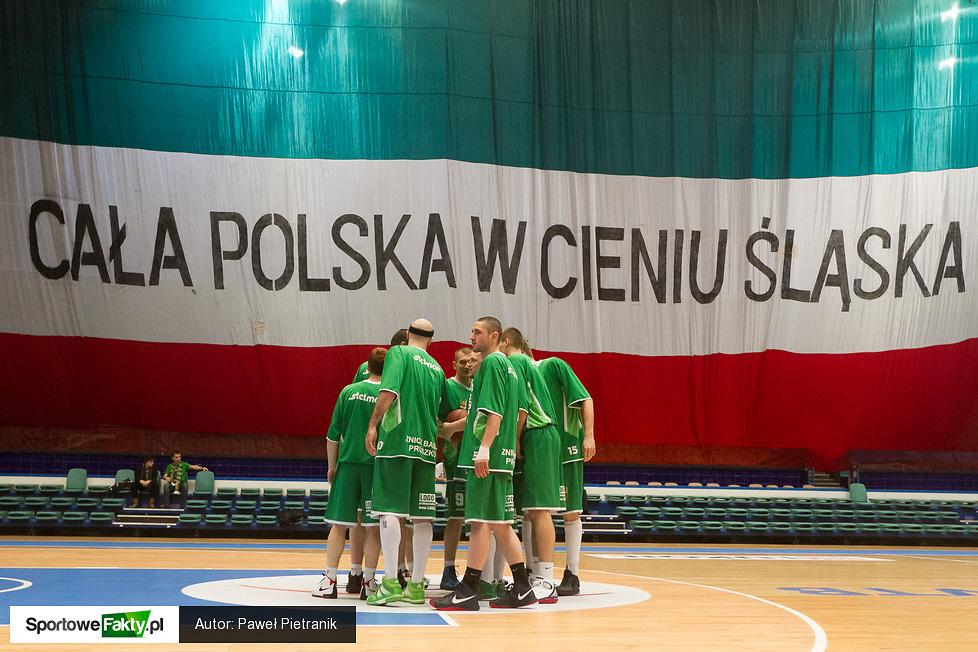WKS Śląsk Wrocław - Znicz Basket Pruszków 75:69, cz. 2