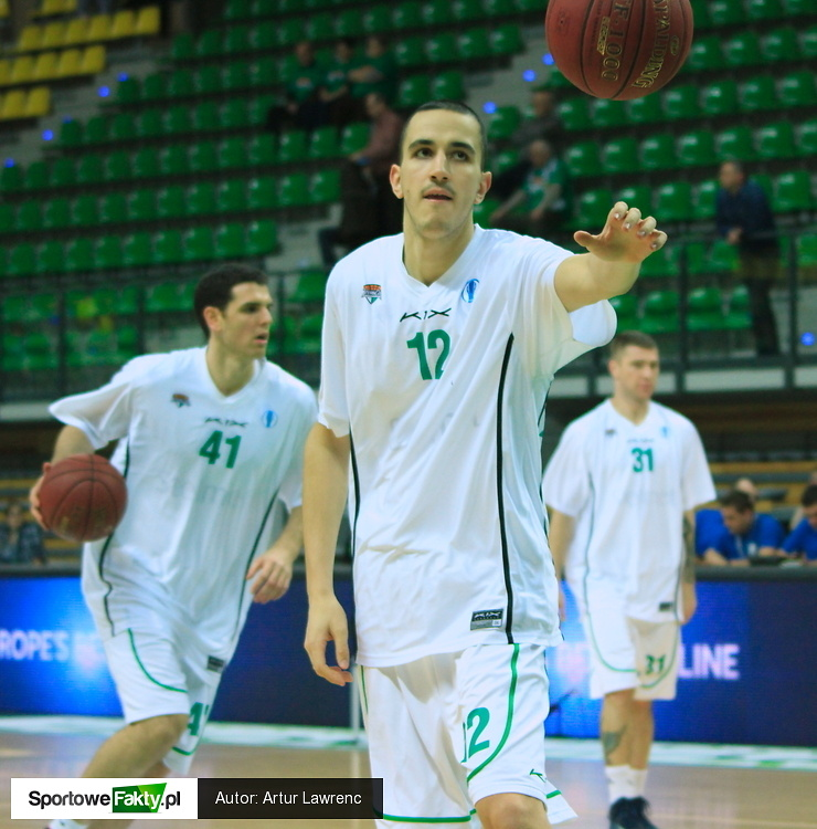 Stelmet Zielona Góra - Lokomotiw Kubań Krasnodar 94:88