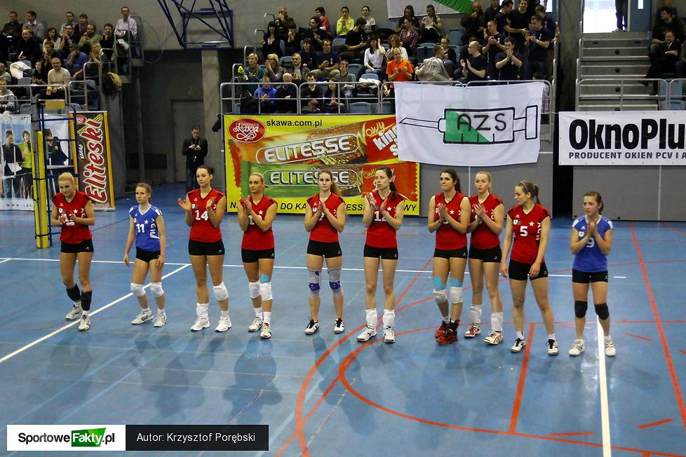 Eliteski AZS UEK Kraków - AGH Galeco Wisła Kraków 3:0