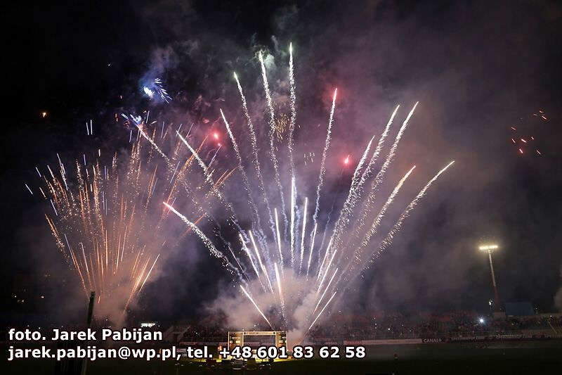 Kibice i cheerleaderki na GP Europy w Bydgoszczy
