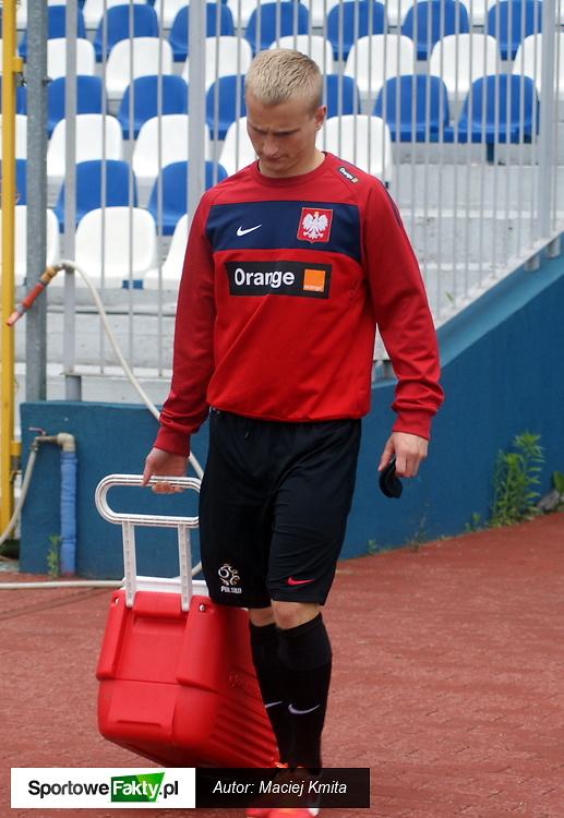 Trening reprezentacji U-21 w Krakowie