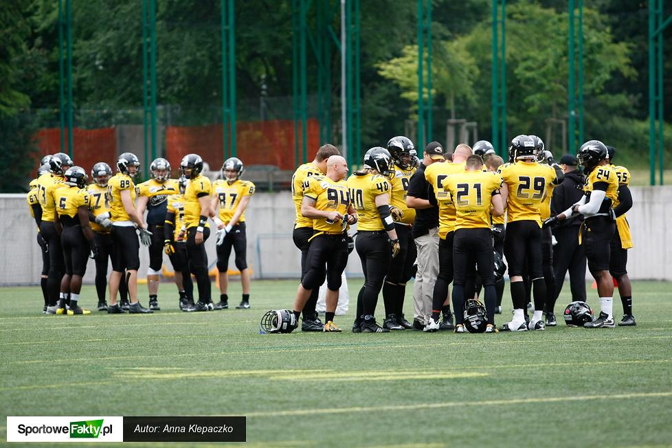 Półfinał PLFA: Seahawks Gdynia - Giants Wrocław  12:35