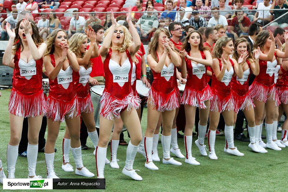 Cheerleaderki na Superfinale PLFA