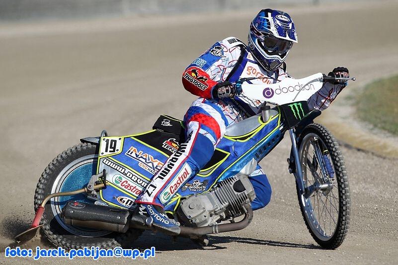 Trening przed GP w Terenzano