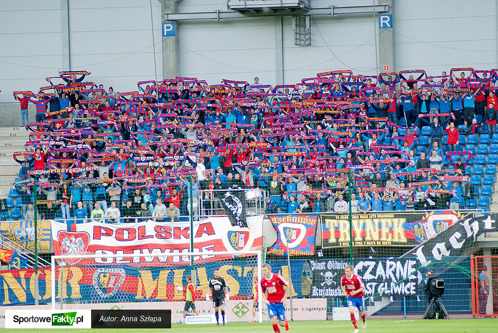 Piast Gliwice - Śląsk Wrocław 1:1