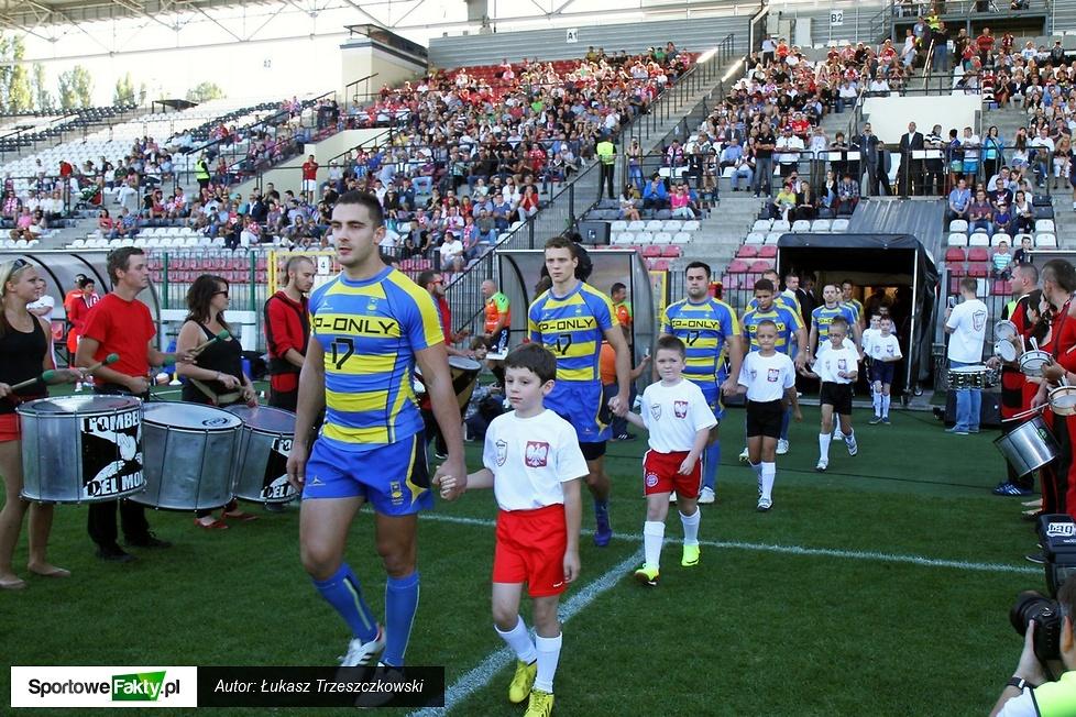 Puchar Narodów Europy w rugby - mecz Polska - Szwecja 30:9