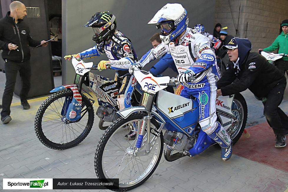 Trening przed Grand Prix Polski w Toruniu, cz. 1