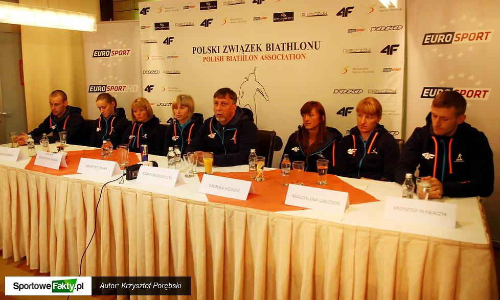 Przedsezonowa konferencja Polskiego Związku Biathlonu