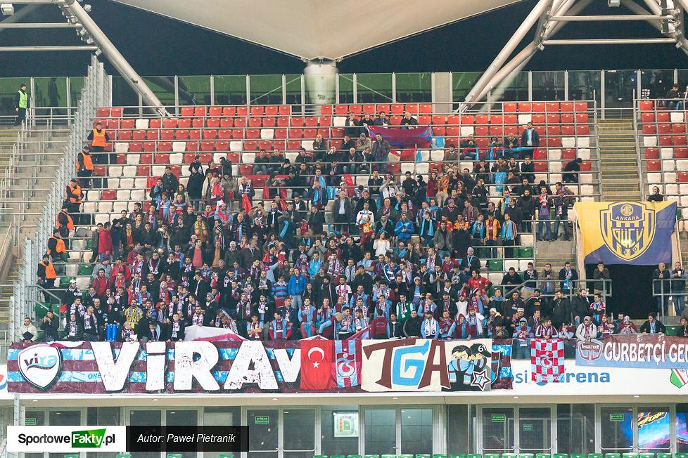 Legia Warszawa - Trabzonspor Kulübü 0:2, część 2