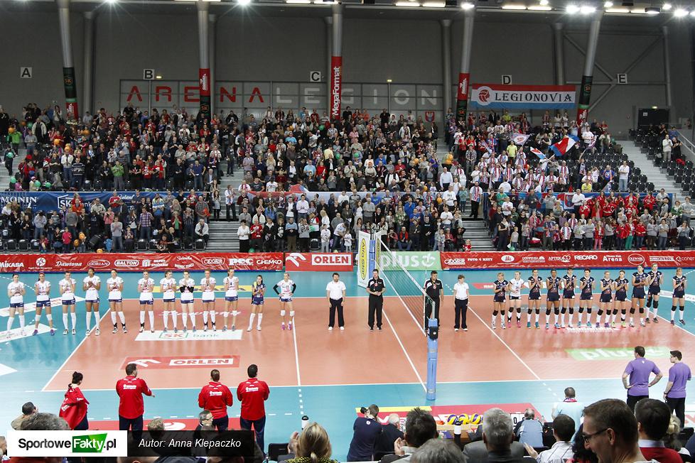 Tło meczu Siódemka SK Bank Legionovia - Beef Master Budowlani Łódź