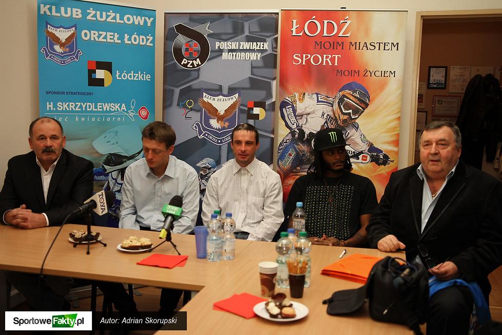 Konferencja prasowa Orła Łódź