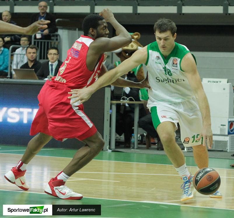 Stelmet Zielona Góra - Olympiakos Pireus 80:91