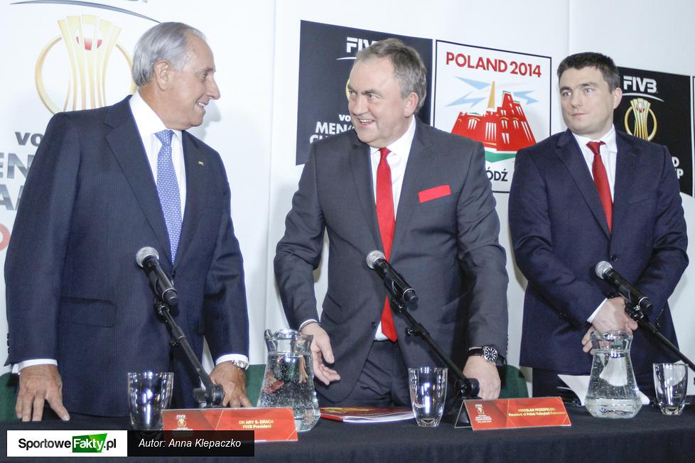 Konferencja prasowa przed galą losowania Mistrzostw Świata 2014
