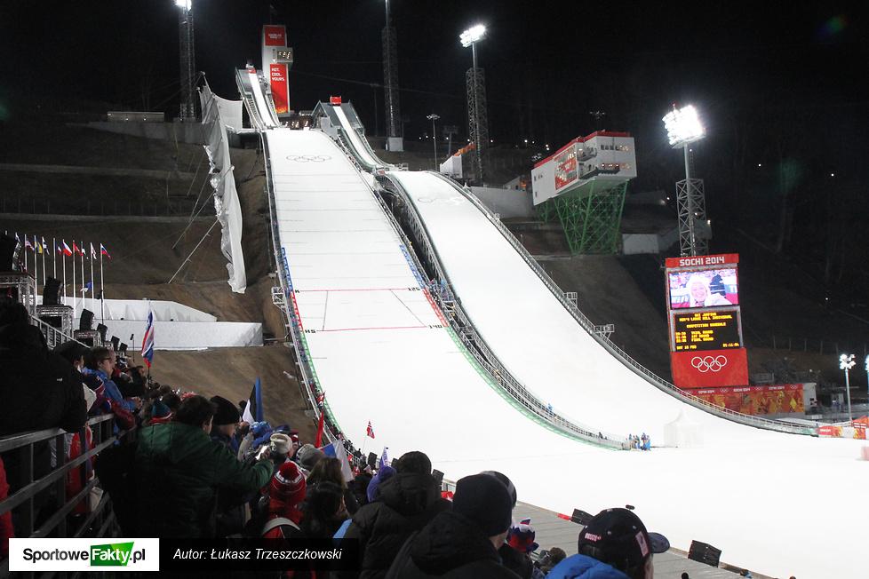 Indywidualny konkurs na dużej skoczni w Soczi