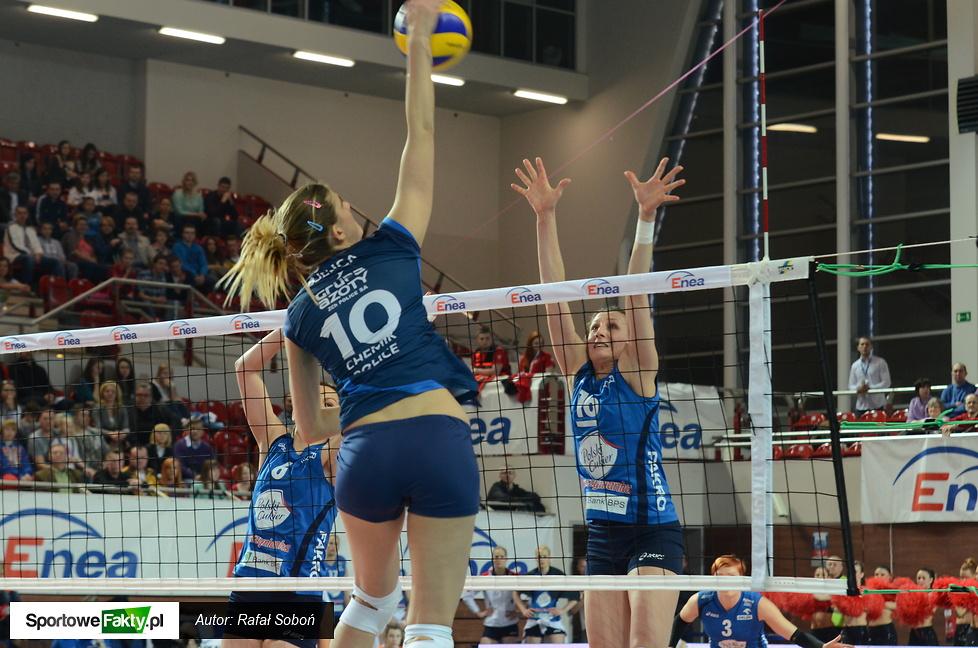 Puchar Polski kobiet: Chemik Police - Polski Cukier Muszynianka Fakro Bank BPS 3:0