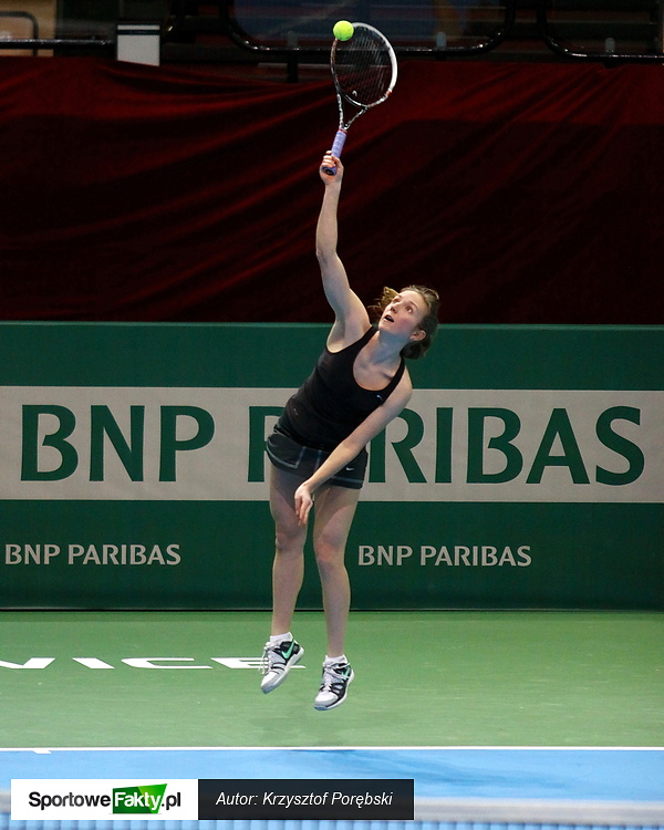 Kwalifikacje WTA Katowice: Marta Kowalska - Maria Elena Camerin 0:6 2:6