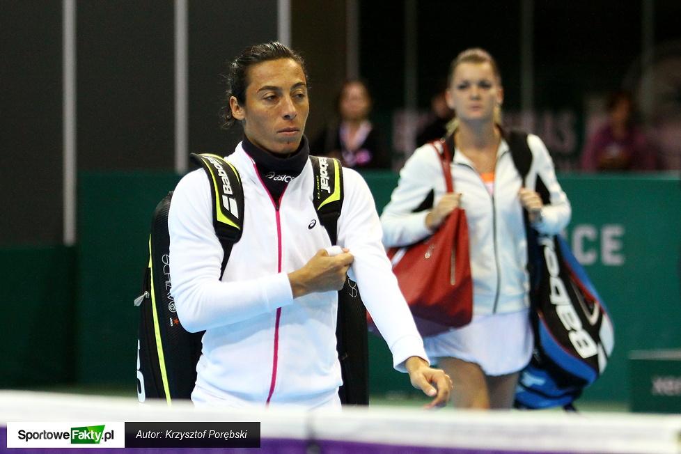 WTA Katowice: Agnieszka Radwańska - Francesca Schiavone 6:4 6:3