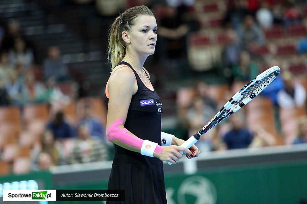 WTA Katowice: Agnieszka Radwańska - Yvonne Meusburger 6:4, 6:1