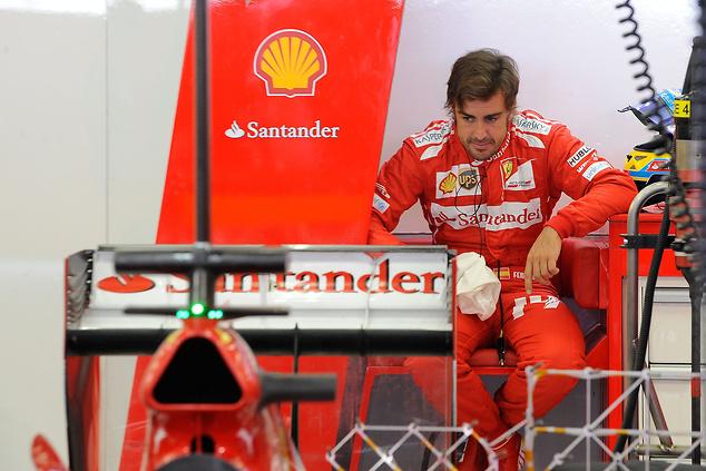 Fernando Alonso ma o czym myśleć.