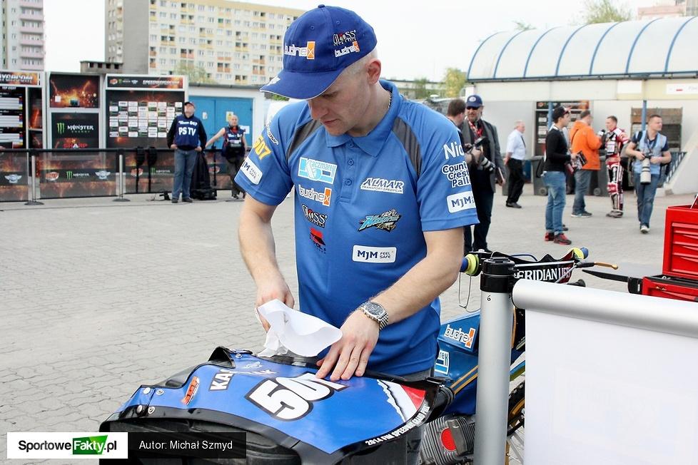 Trening przed Grand Prix Europy w Bydgoszczy, część 1