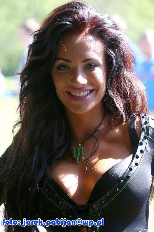 Monster Girls podczas Grand Prix Finlandii