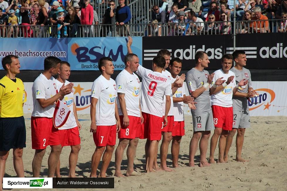 Europejska Liga Beach Soccera: Polska - Grecja 3:4