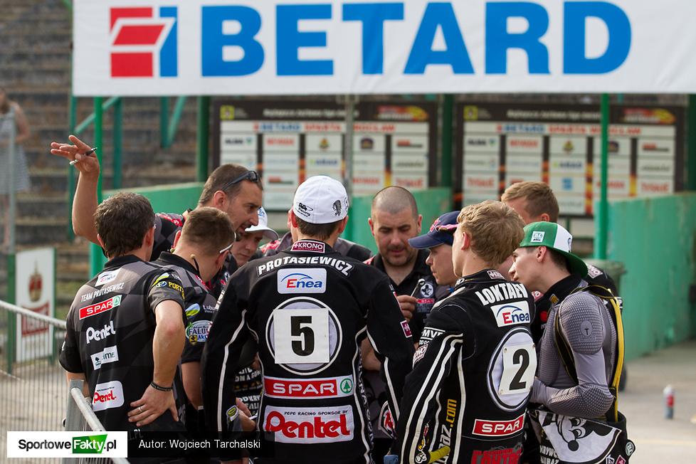 Betard Sparta Wrocław - SPAR Falubaz Zielona Góra 50:40
