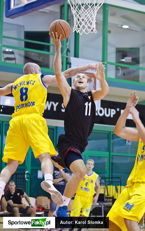 Turniej o Puchar Prezydenta Miasta Krosna: Mickiewicz Katowice - GKS Tychy 56:76