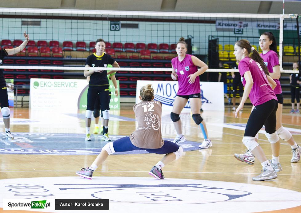 Turniej o puchar Prezesa KSS Karpaty Krosno. Silesia Volley Mysłowice - KS Jastrzębie Zdrój PLKS Pszczyna 0:3