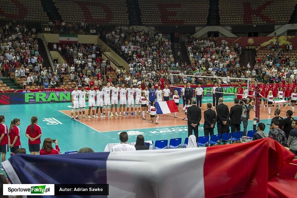 MŚ: Francja - Iran 3:2