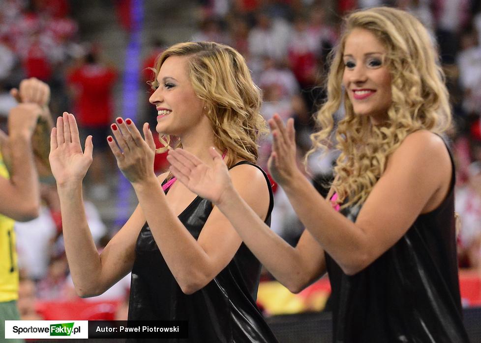 Cheerleaders Flex Sopot podczas MŚ