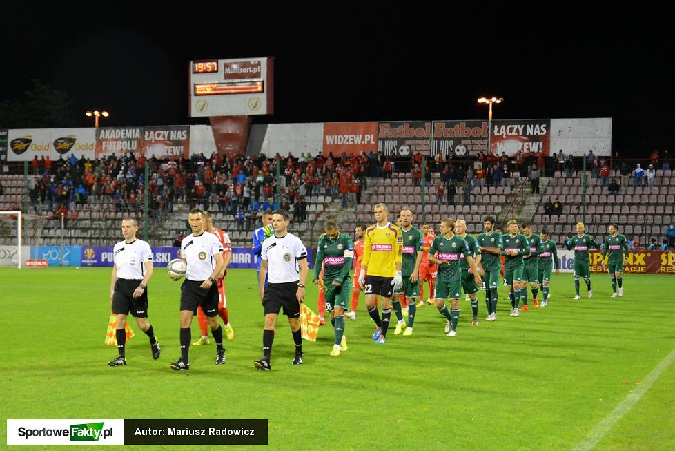 Puchar Polski: Widzew Łódź - Śląsk Wrocław 1:2