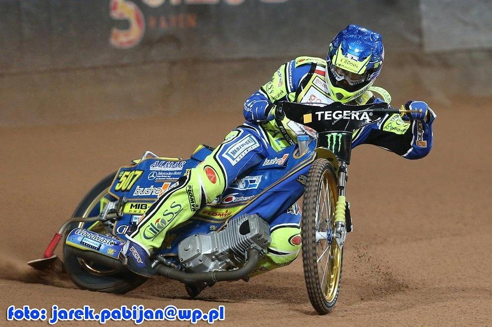 Trening przed Grand Prix Skandynawii w Sztokholmie
