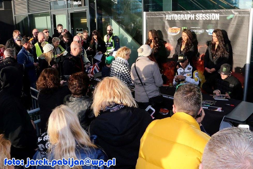 Fan Zone przed GP Skandynawii