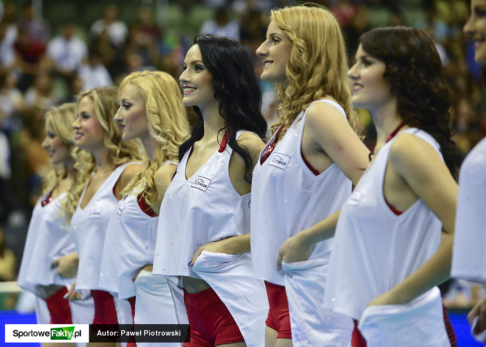 Cheerleaders Sopot Flex Dance podczas Superpucharu Polski
