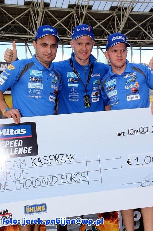 Speed challenge: Team Kasprzaka vs Team Lindgrena