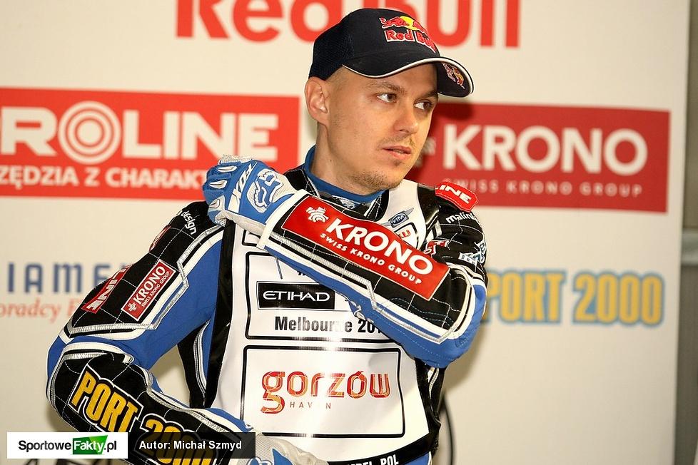 Trening przed Grand Prix Polski w Toruniu
