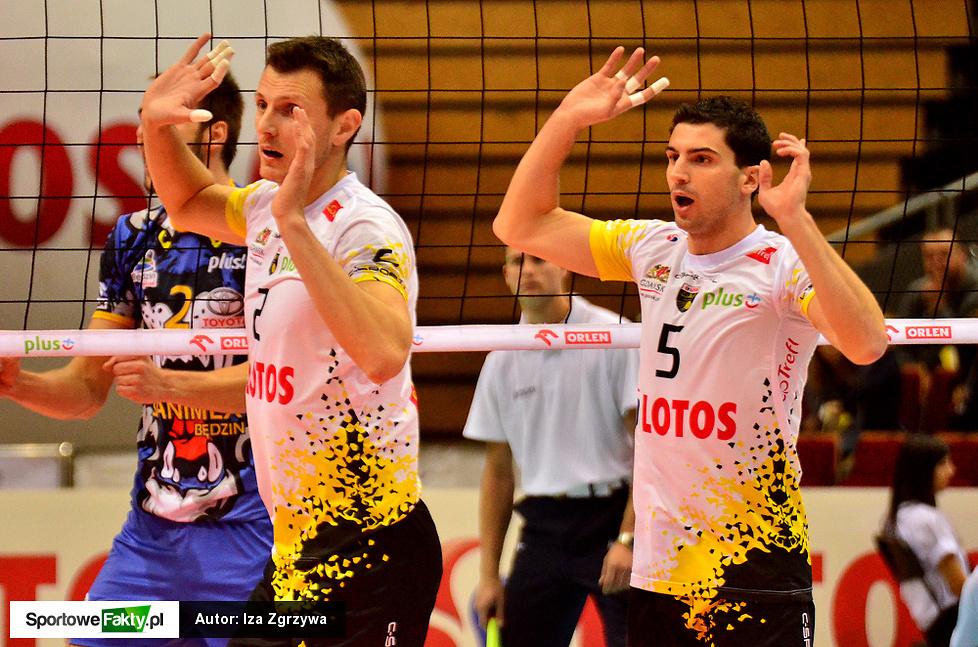 Lotos Trefl Gdańsk - MKS Banimex Będzin 3:0