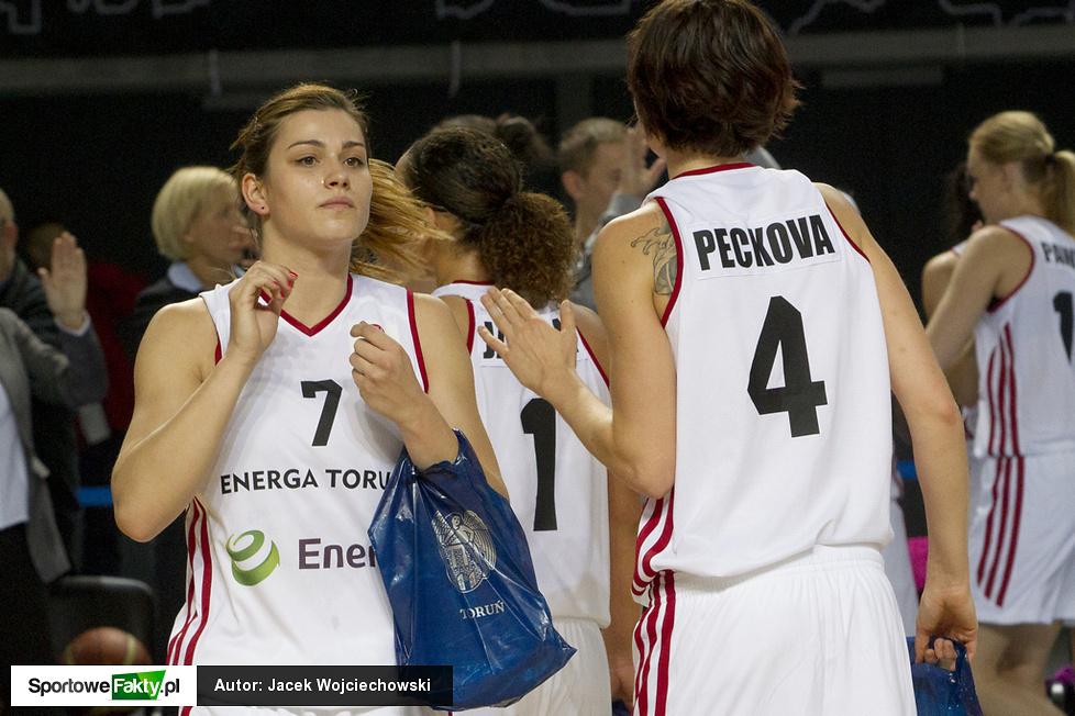 Euroliga Kobiet: Energa Toruń - Agu Spor Kulubu 83:78