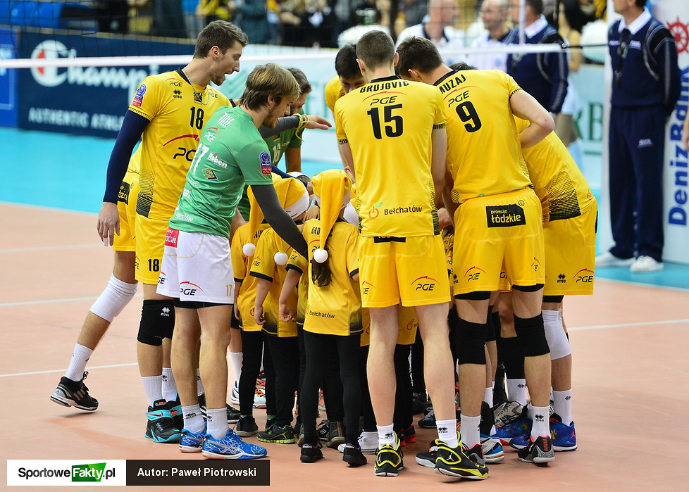 PGE Skra Bełchatów - Hypo Tirol Innsbruck 3:0