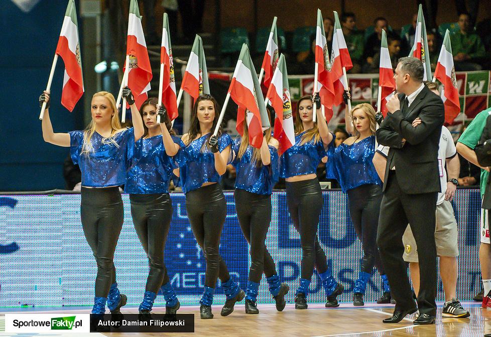 Cheerleaders Wrocław na WKS Śląsk Wrocław - Anwil Włocławek