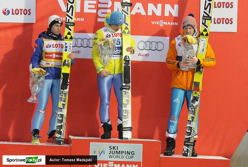 Ceremonia wręczenia nagród podczas Pucharu Świata w Zakopanem