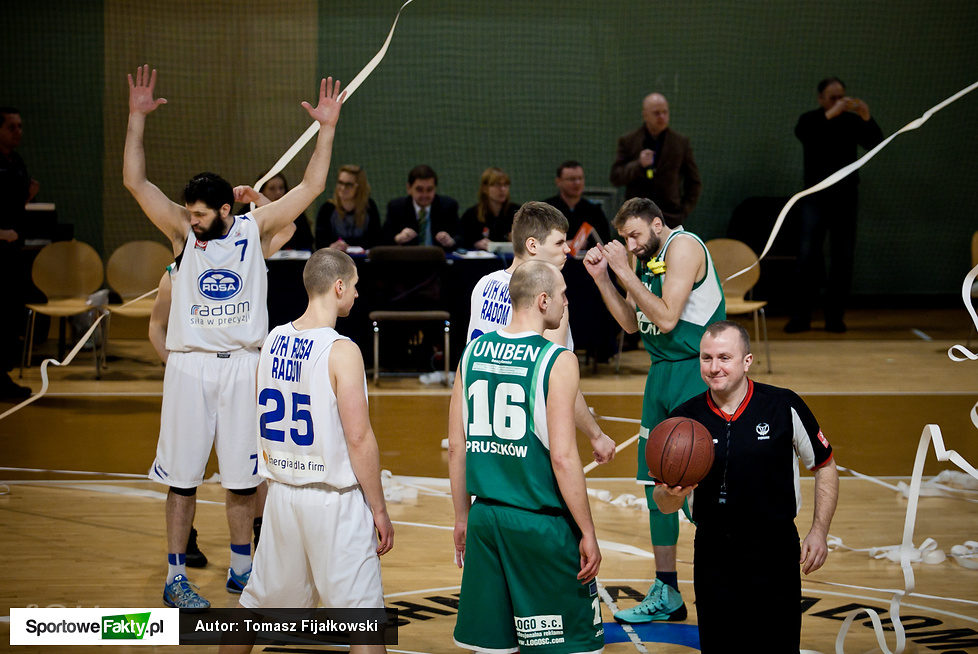 UTH Rosa Radom - Znicz Basket Pruszków 65:85