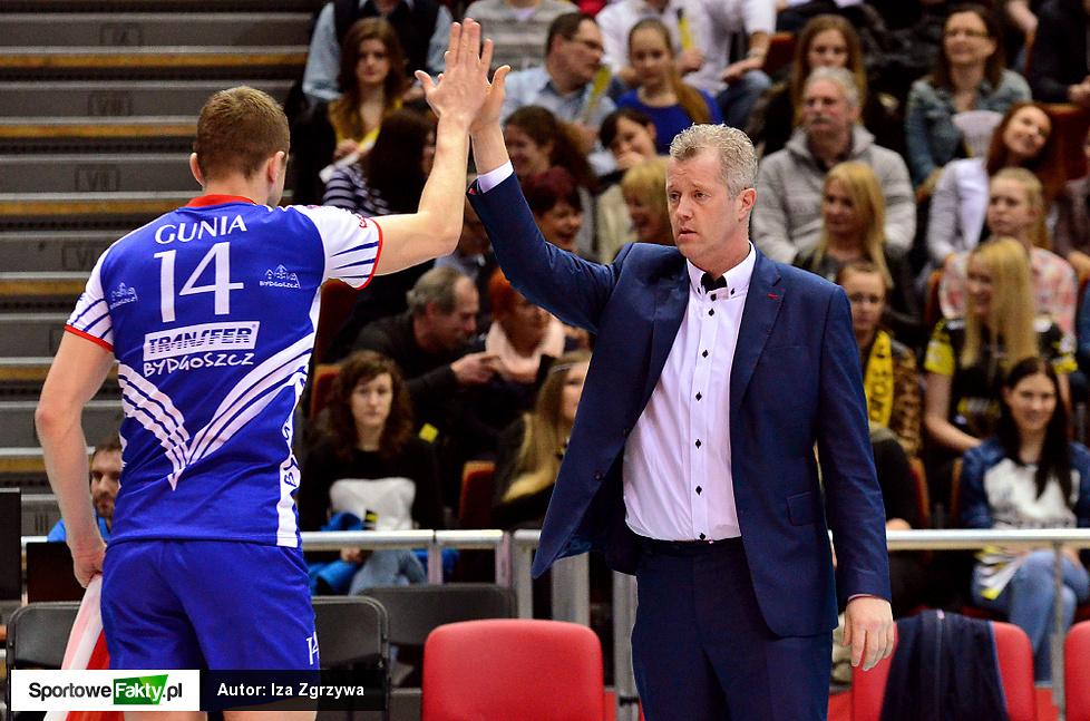 Lotos Trefl Gdańsk - Transfer Bydgoszcz 3:1 cz. I
