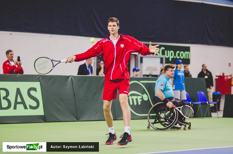 Puchar Davisa: Kubot / Matkowski - Berankis / Grigelis