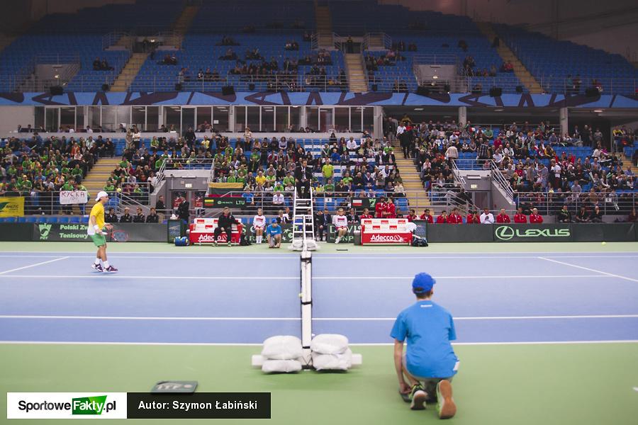 Puchar Davisa: Jerzy Janowicz -  Ricardas Berankis